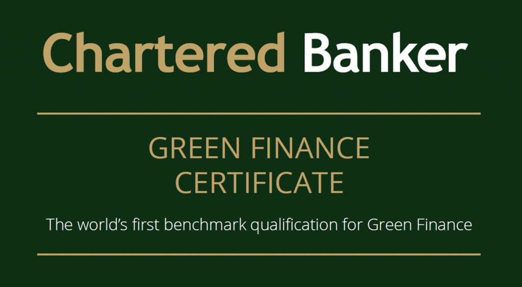 Chartered Banker Institute Launches Green Finance Qualification